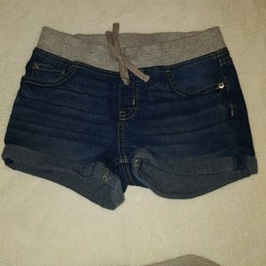 Justice sz 10 denim shorts